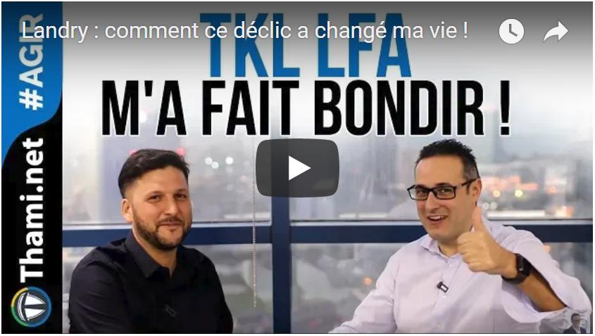 TKL LFA tkl lfa Landry : comment ce déclic a changé ma vie ! TKL LFA! landryyt