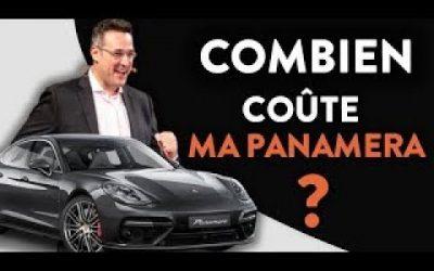 Découvre l'incroyable prix de ma Panamera ?