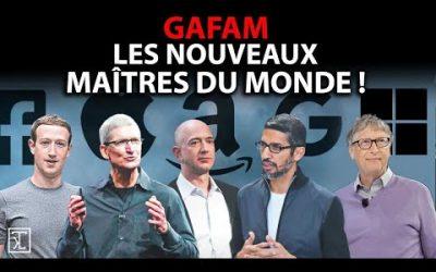 LES GAFAM, NOUVEAUX MAITRES DU MONDE ET APPLE HUMILIE LE CAC 40 !
