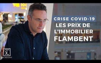 POURQUOI LES PRIX DE L'IMMOBILIER FLAMBENT MALGRE LA CRISE ?